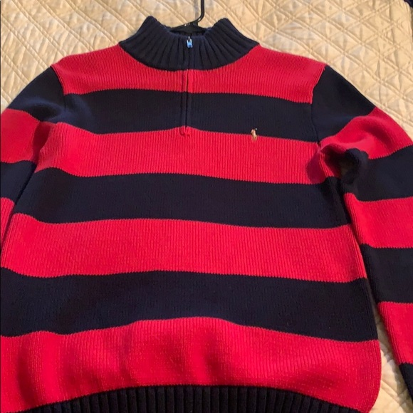 Polo by Ralph Lauren Other - Red/navy stripe sweater